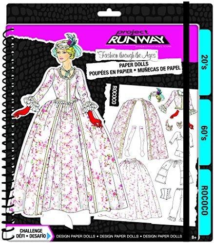 Fashion Angels Project Runway Moda A Través De Las Edades Pa