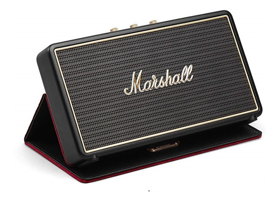 Bocina Bluetooth Marshall Stockwell Recargable + Flip Cover