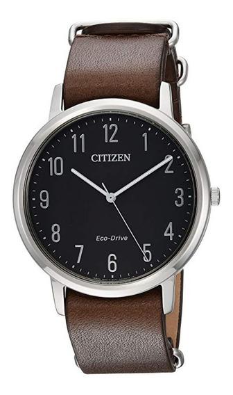 Reloj Eco Drive Chandler Casua Mod Bj6500-04e Hombre Citizen