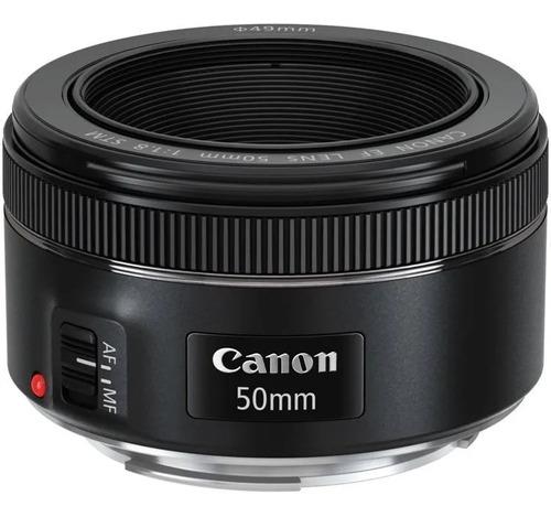 Lente Canon 50mm F1.8 Stm + Fitro + Lacrado