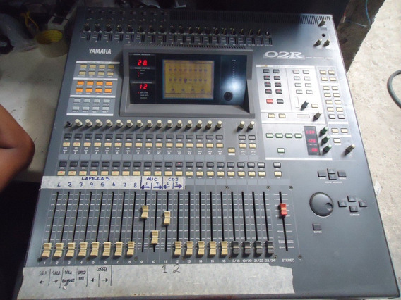 Mesa De Som Yamaha O2r Studio Digital