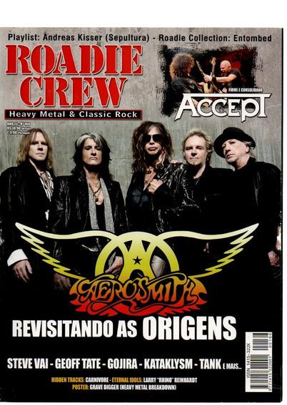 Roadie Crew Aerosmith Revisitando As Origens Nº 166