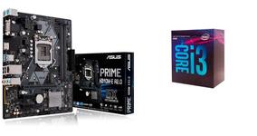 Kit Proc. 8a Geração Intel Core I3 8100 Placa Mãe Asus H310m