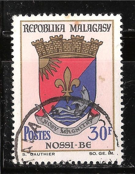 Madagascar - Escudo De Armas De Nossi Be - 1966
