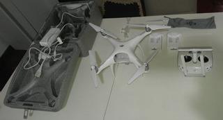 Dron Dji Phantom 4 Advance + Excelente! 2 Bat