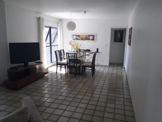 Apartamento Em Casa Forte, Recife/pe De 147m² 4 Quartos À Venda Por R$ 650.000,00 - Ap266567