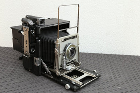 Câmera Analógica Grande Formato 4x5