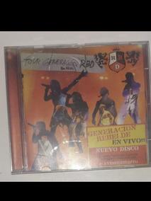 Cd Rbd Rebelde Tour Generacion Original