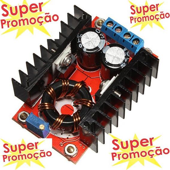 Conversor Step Up 10-32v A 12-35v 150w Elevador De Tensão
