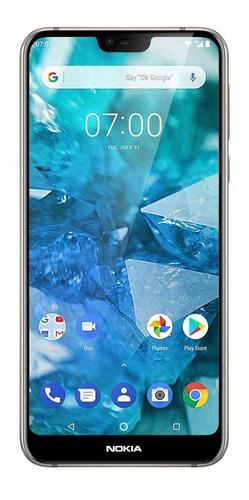 Imagen 1 de 3 de Nokia 7.1 64 GB acero brillante 4 GB RAM