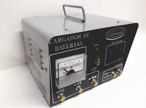 Cargador Baterias Intraud C-20 6 Y 12 Volt 20 Amp  Ind. Arg.
