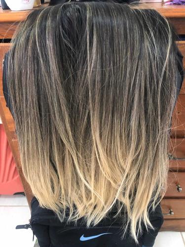 Mega Hair Cabelo Brasileiro Do Sul! Lindo! Pronto Na Tecnica