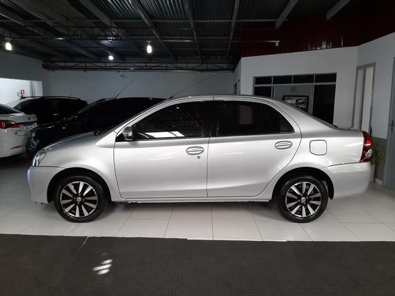 Toyota Etios 1.5 Platinum Sedan Flex Banco Couro Placa I