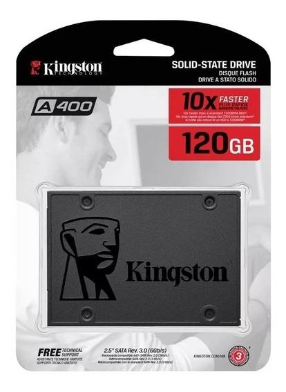 Hd Ssd 120 Gb Sata 3 Kingston A400 500 Mb/s Com Nf