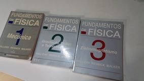 Fundamentos De Física 1 2 3 Física - Ita Ime Fuvest Unicamp