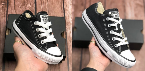 Tenis All Star Converse Original Kit 2 Pares Adulto+infantil