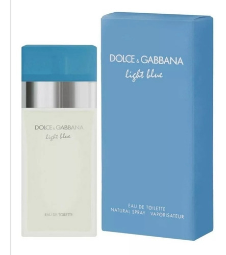 Perfume Loción Light Blue De  Dolce & - mL a $1400