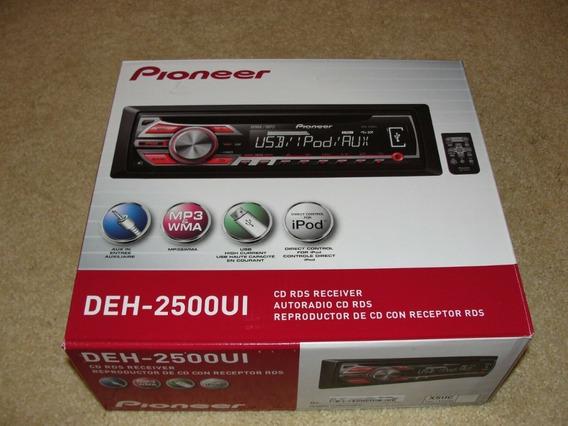 Reproductor Deh-2500ui Con Control Del Volante