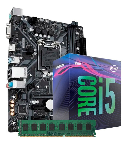 Combo Actualización Intel Core I5-9400 H310m-m.2 8gb Ddr4 Pc