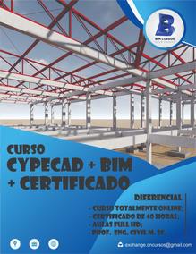 Curso De Cypecad + Bim + Certificado 40h