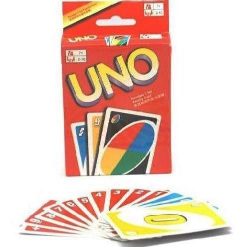 Jogo De Cartas Uno 108 Cartas + Instruções