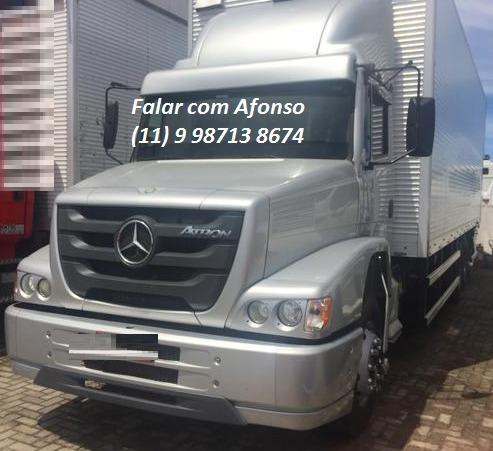 Mercedes Benz Mb 2324 Atron 2015 Baú