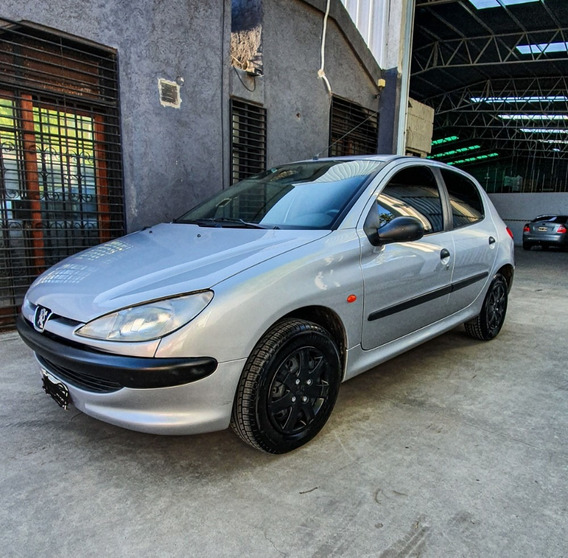 Peugeot 206 1.6 Frances 1999 Inmaculado Impecable Unico!