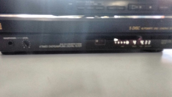 Cd Player Sony Cdp-c500m Carrousel 5cd Perfeito