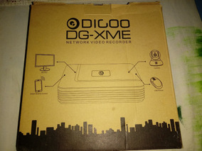Digoo Dg-xme 4 8 12ch 1080p Hdmi P2p Standalone Onvif