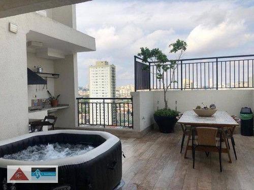 Imagem 1 de 19 de Cobertura Duplex - Tatuapé - São Paulo/sp - Co0338