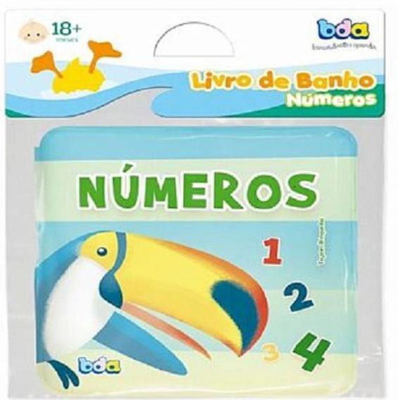 #livro De Banho - Numeros