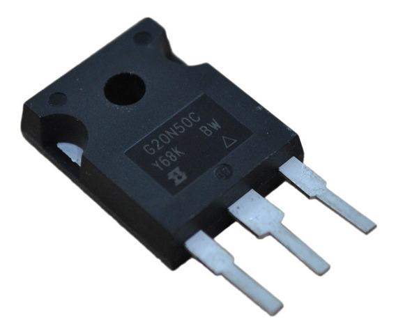 03 X Transistor Mosfet G20n50c 20n50 To247 20a 560v - Ori