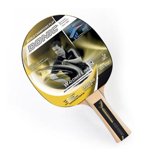 Paleta Ping Pong Donic Schildkrot Waldner 500 Tenis Mesa Madera Vario 5v Profesional