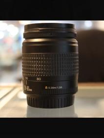 Lente Canon 28-80 F3.5 - 5.6