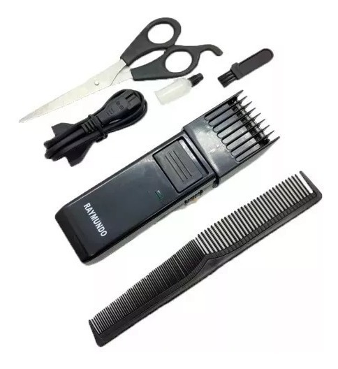 Maquina Aparador De Barba Cabelo Pelo Costeleta Recarregável