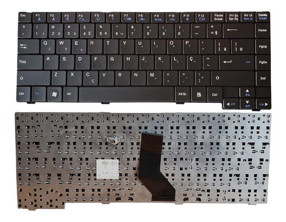 Teclado Lg C400 A410 C40 Abnt2 Br (ç) Mp-09m26pa-9201 Novo