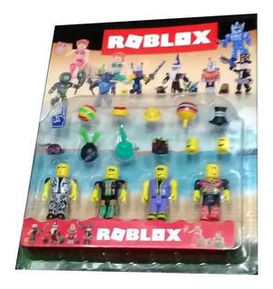 Roblox Zombie Set X 4 Muñecos + Accesorios