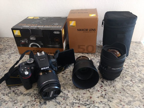 Nikon D5300 / Lente Nikon 50mm 1.8g / Lente Sigma 8-16mm / L