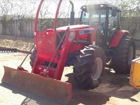 Trator Agrícola Massey Ferguson Mf7150 Com Lâmina E Grade