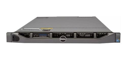 Imagem 1 de 8 de Servidor Dell Poweredge R610 32gb 2hds 300 2xeon Sixcore Nf