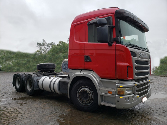 Scania 2011 G420 Autom. 6x4 = 440 Fh Volvo 400 Mb Axor 2644