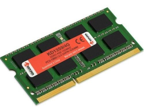 Memória Ddr3 4gb 1333 Notebook Pc10600 Keepdata