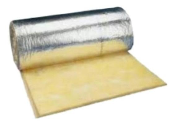 Rollo De Aislante Termico Con Aluminio - Fibra De Vidrio
