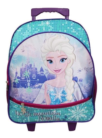 Ruz - Disney Frozen Mochila Primaria C/ruedas Escolar