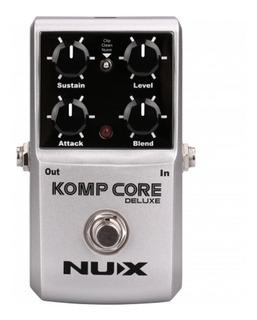 Pedal Guitarra Nux Deluxe Komp Core Compresor - Cuotas