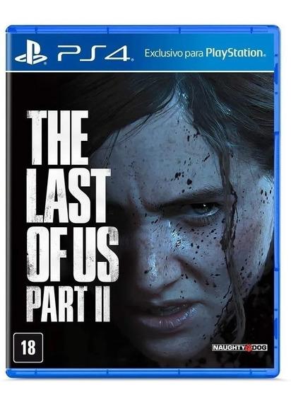 Jogo The Last Of Us Part 2 Ps4 Midia Fisica Lacrado Dublado