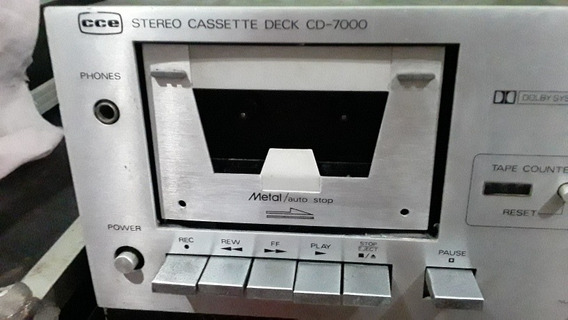 Tape Deck Cce Cd7000