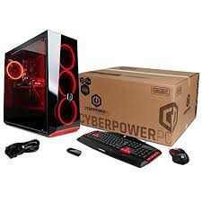 Cpu Gaming Cyberpowerpc 2tb Rx580 4gb 8gb Ddr4