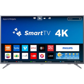 Smart Tv Led 55 Philips 55pug6513/78 Ultra Hd 4k Conversor.
