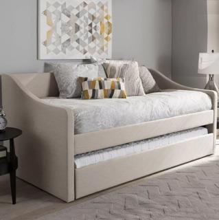 Mueble Sofa Cama Individual Color Y Cojines A Elegir
